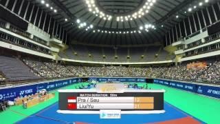 2014 YONEX CHINESE TAIPEI OPEN- F- XD - Match 1