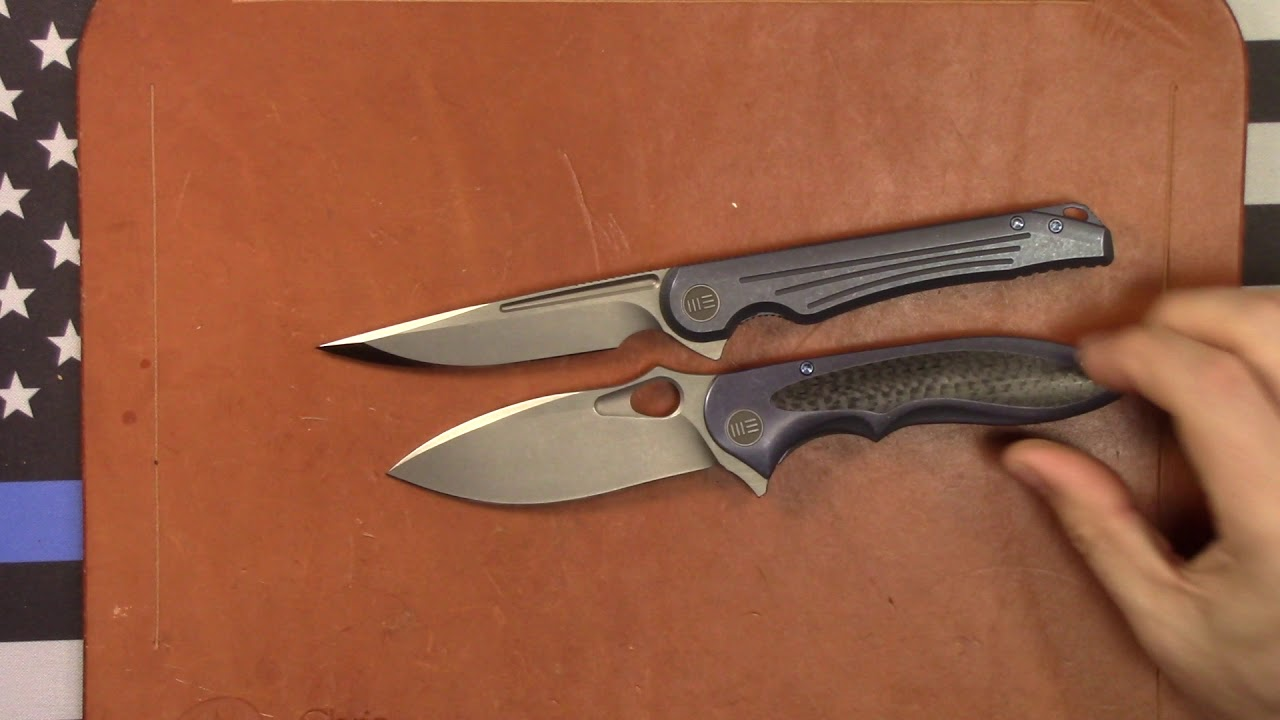 WE Knives Zephyr and Array Review