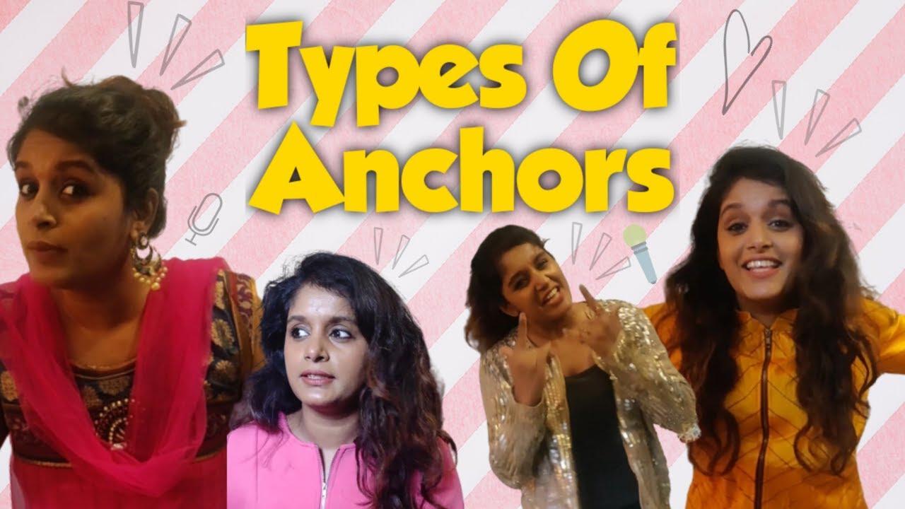 Types Of Anchors| Comedy Sketch | Rapid Rashmi