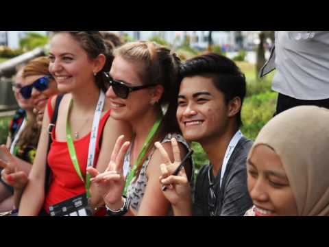 The Youth Global Forum in Jakarta. Final video report