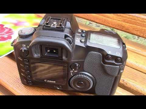 Обзор Canon D60 (2002г) в 2019 Review Canon D60 кэнон