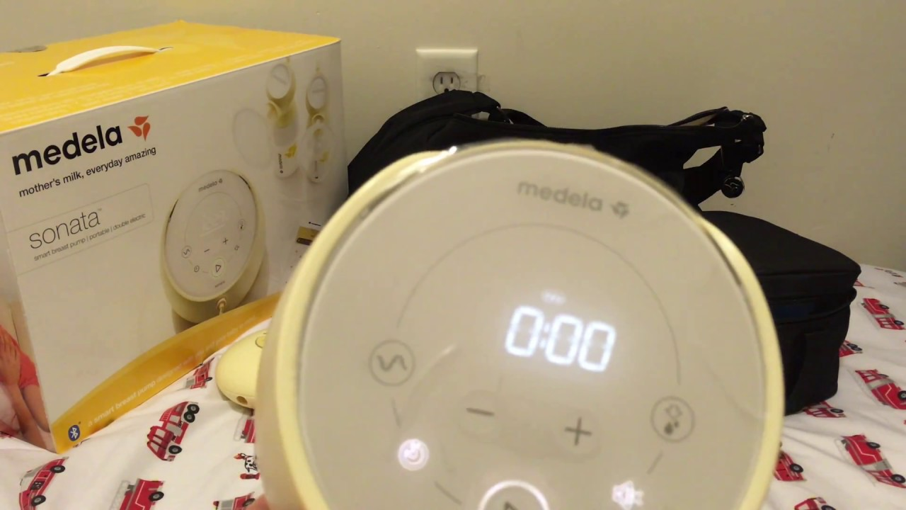 Medela Sonata Breast Pump Initial Hands On Review Youtube