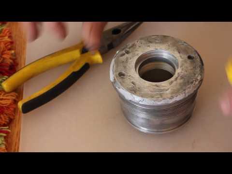 Installing Inner Hydraulic Seal Bobcat Tilt Cylinder