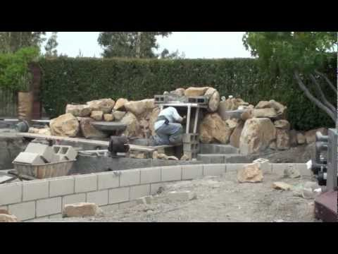72v  21x4x4t, BARYS,  construction video, The Waterfall Company