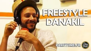 DANAKIL - Freestyle at PartyTime Radio Show - 23 FEV 2014