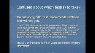 At Home STD Test or At Home HIV Test