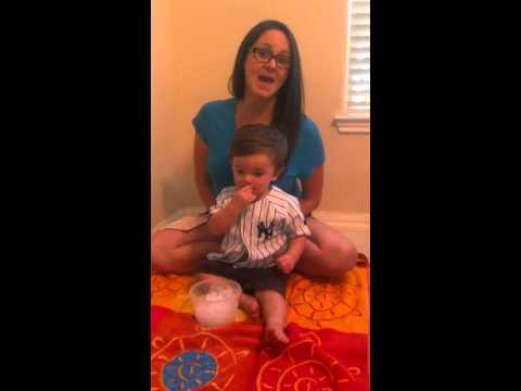 Toddler ALS ice bucket challenge!
