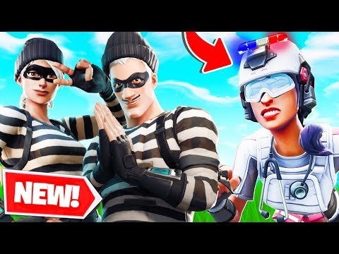 Fortnite COPS & ROBBERS But Lachlan Is The WORST COP!