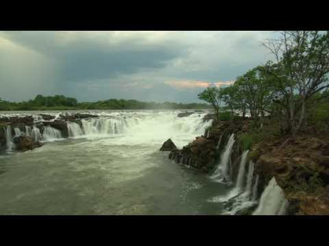 Ngonye Falls, Sioma Ngwezi National Park, Zambia