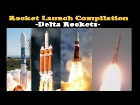 Rocket Launch Compilation (Delta Rockets) 🚀 | Go To Space