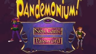 Pandemonium gameplay (PC Game, 1996)