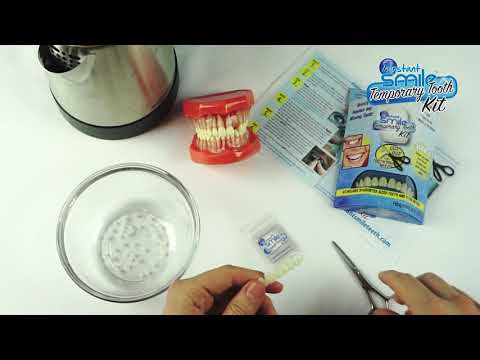 Instant Smile Temporary Tooth Kit - Instructional Fitting Video