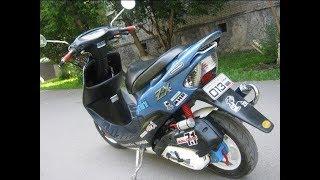 Мото скутер Honda Dio 34 Обзор. Моя внедорожная дио для покатушек)