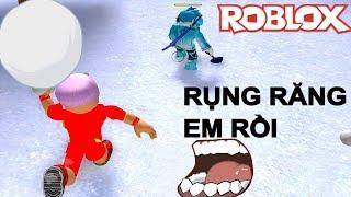 Roblox | Essen SchneePause Mund | Schneeball Kampf Simulator | Minhmama