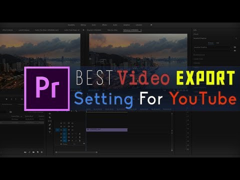 Best Video Render Settings For YouTube | Export Best Quality Video Bangla Tutorial