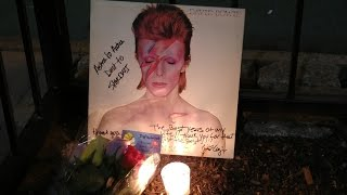 David Bowie is still alive. New York, Lafayette St. 285, our tribute to an Hero