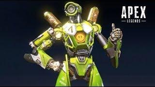 APEXランクマ プラチナ1~ ポンコツロボットを添えて