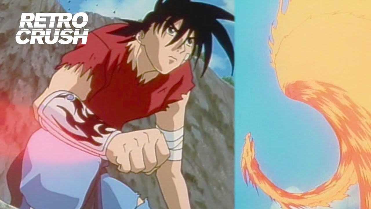 Recca Unleashes The Fire Dragon Flame Of Recca 1997 Youtube