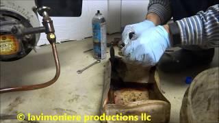 beckett oil burner making explosion noise when starting