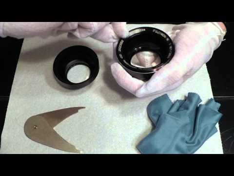 Cleaning Lens Elements | Large Format Film Photography Lens