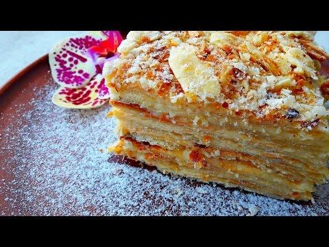 Торт наполеон тесто