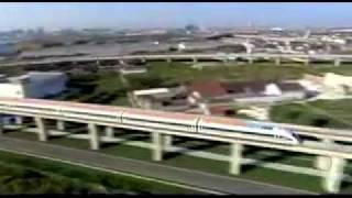 Китай. Шанхай. Поезд Маглев.(http://www.town-explorer.ru/shanghai/ - достопримечательности Шанхая на карте, фото и видео., 2011-09-30T07:56:40.000Z)