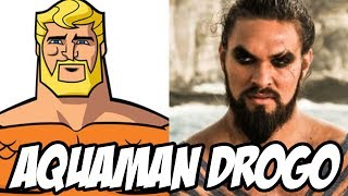 Aquaman no filme Batman v Superman, OLHA A FAROFADA