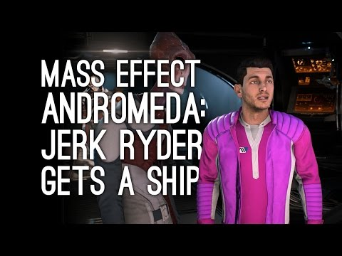 Mass Effect Andromeda Gameplay: Jerk Ryder Gets a Ship (Let's Play Mass Effect Andromeda) - Ep. 2