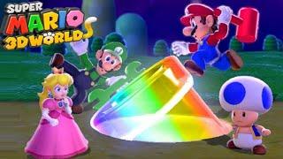 Super Mario 3D World (Switch) - Full Game 100% Walkthrough