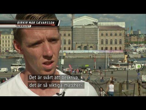 """Hammarbys EM-spelare: """"Derbystämningen är unik"""" - TV4 Sport"""