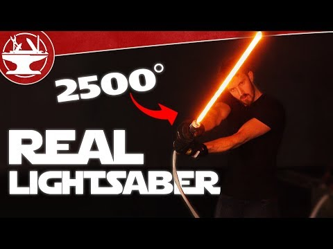2500° LIGHTSABER BUILD