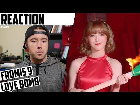 Fromis_9(프로미스나인) - Love Bomb MV Reaction