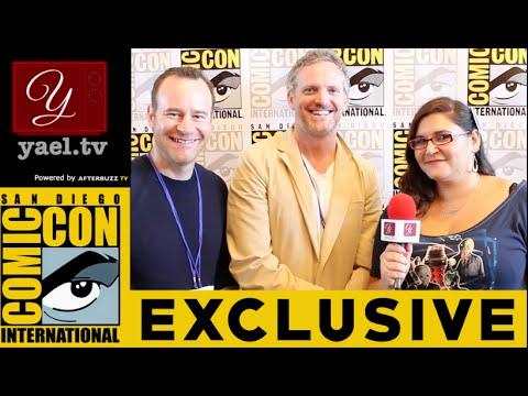 Hugh Davidson & Larry Dorf  Mike Tyson Mysteries   San Diego ComicCon 2015