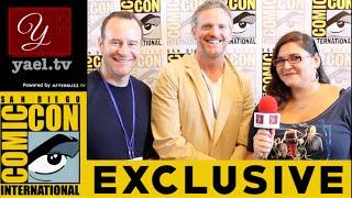 Hugh Davidson & Larry Dorf - Mike Tyson Mysteries Interview - San Diego ComicCon 2015