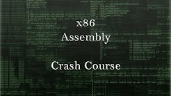 x86 Assembly Crash Course