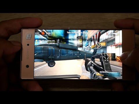 Game test on Sony Xperia XA1