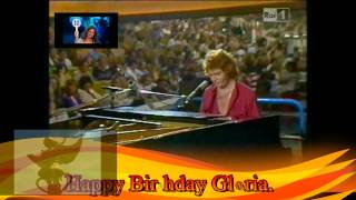 Happy Birthday,Gloria! In Melbourne with Gigliola Cinquetti and Umberto Tozzi(Gloria).