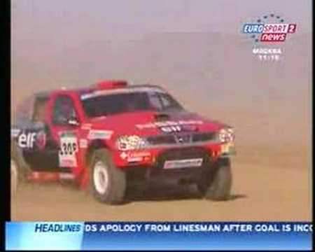 Colin McRae Missing Eurosport 2 Report