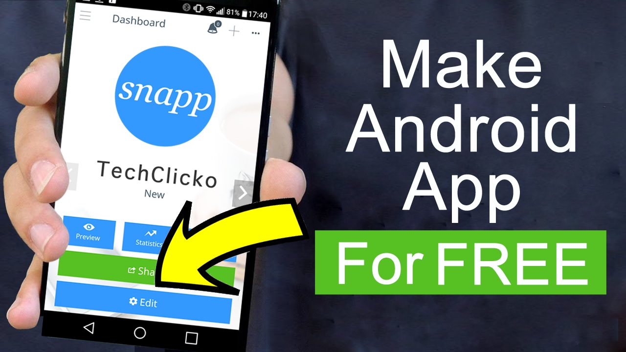 How To Make An Android App For Free Without Coding Youtube