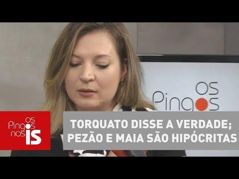 Torquato Disse A Verdade; Pezão E Maia São Hipócritas