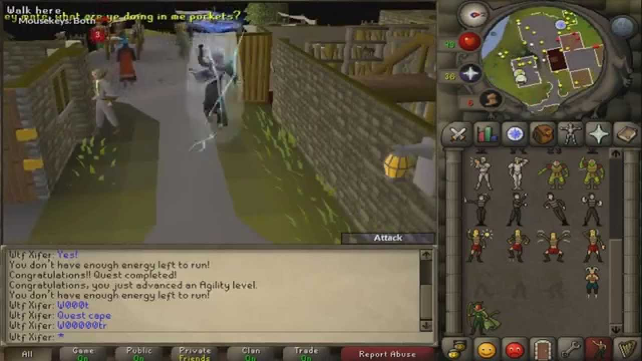 Getting Quest Cape On Osrs And Im Back Youtube Get a quest cape by completing every quest in order of release date. youtube