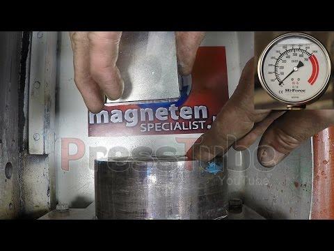 Hydraulic Press   Large Neodymium Magnet 60*60*30