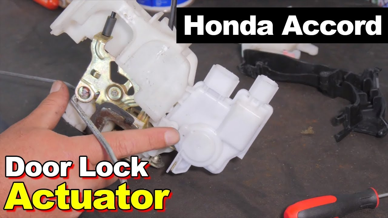 2004 Honda Accord Door Lock Actuator With Diagnostic Youtube