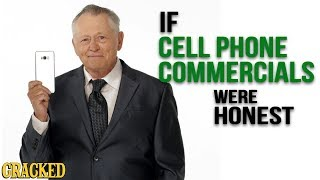 If Cell Phone Commercials Were Honest - Hones Ads (iPhone, Android)