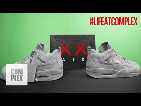 b4bd30547d3 THE KAWS x AIR JORDAN 4 COLLAB IS INCREDIBLE! | #LIFEATCOMPLEX - YouTube