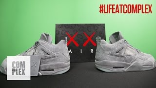 THE KAWS x AIR JORDAN 4 COLLAB IS INCREDIBLE! | #LIFEATCOMPLEX