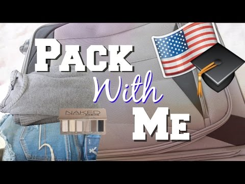 PACK WITH ME exchange year