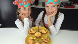 Cheese Puff Muffins - By Charliscraftykitchen &  Cookingfordogs  Bake Tandem Cakes To Share