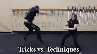 Tricks vs. Techniques - Showcasing HEMA