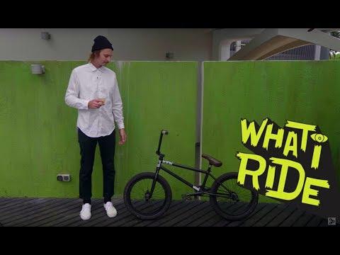 CALVIN KOSOVICH  WHAT I RIDE BMX BIKE CHECK